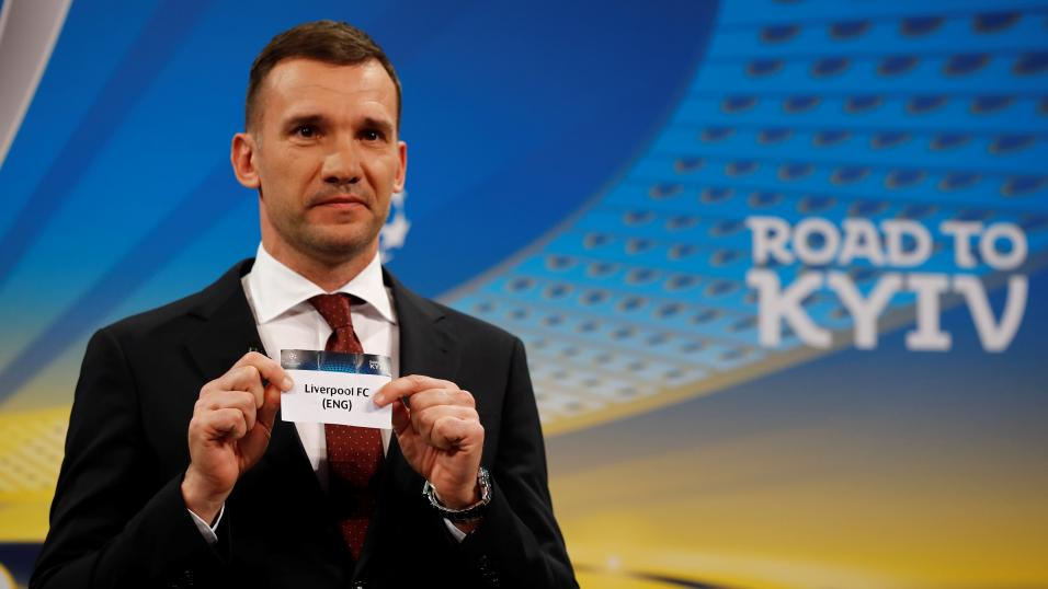 Shevchenko draws Liverpool against Roma