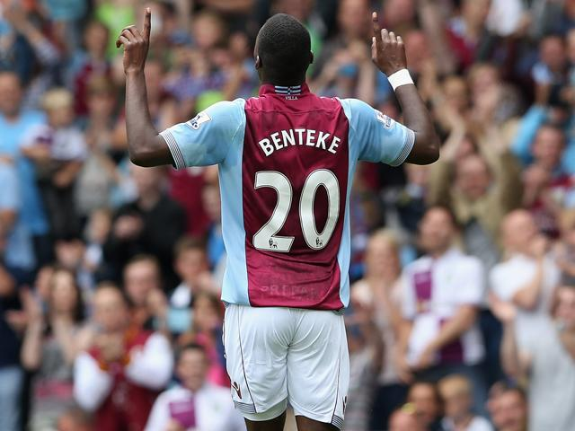Will Christian Benteke's scoring streak continue when Aston Villa face Manchester City?
