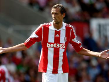 Peter Crouch ponders where the goals will come from when Stoke face West Brom.