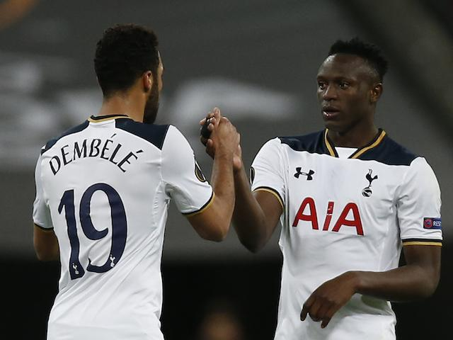 Mousa Dembele and Victor Wanyama will be tasked with controlling the midfield