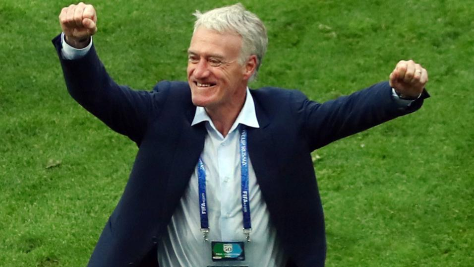 France manager Didier Deschamps.