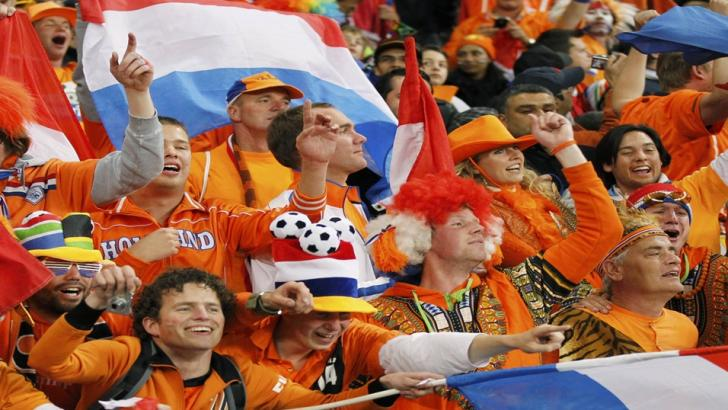 Dutch football fans