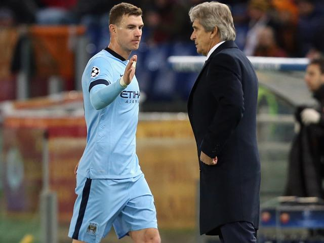 Edin Dzeko could be heading out of the Eihad this summer