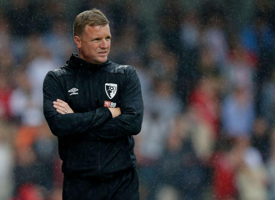 Bournemouth boss Eddie Howe
