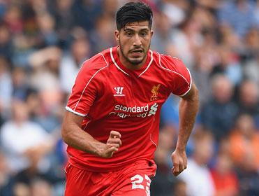 Liverpool fans will hope to see Emre Can at Bournemouth