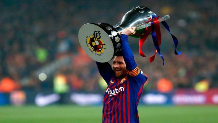 Barcelona forward - Lionel Messi