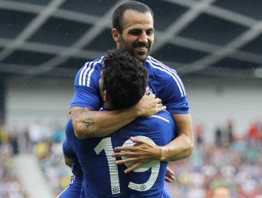 There were goals galore as Costa and Fabregas ran the Everton backline ragged in an impressive 3-6 victory for Chelsea