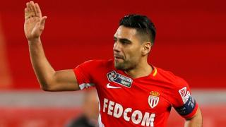 Falcao scored for Monaco in their League Cup win over Montpellier on Wednesday night
