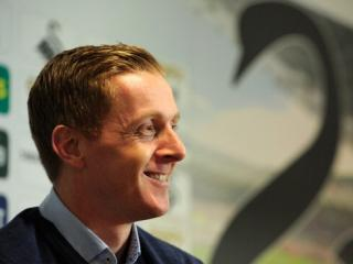 Will Garry Monk still be smiling after Swansea's match with Leicester?