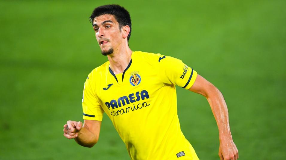 Villarreal player Gerard Moreno.