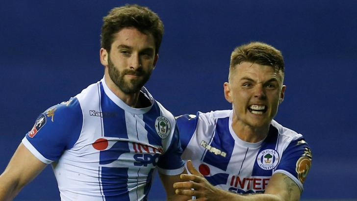 Wigan duo Will Grigg & Max Power