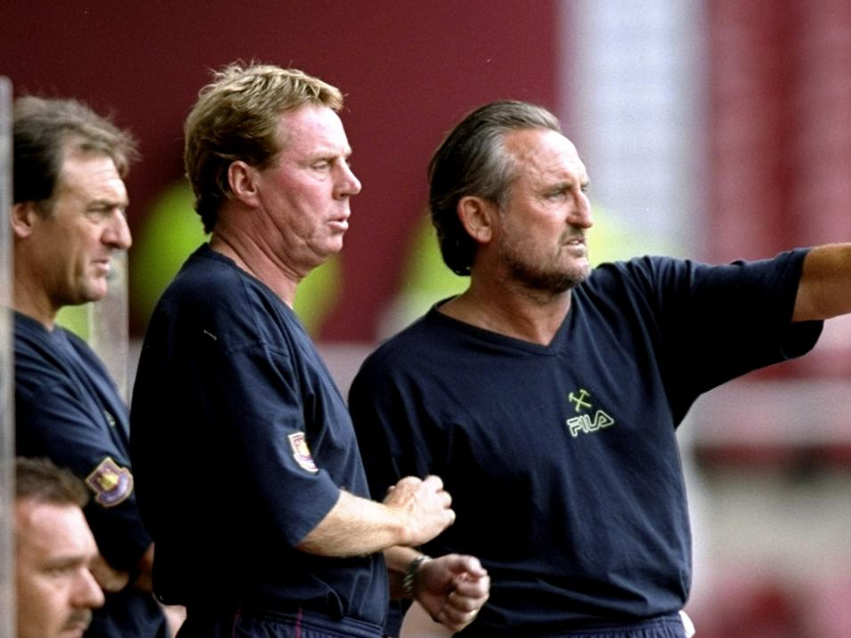 Unfinished business . . . Harry Redknapp in his West Ham days