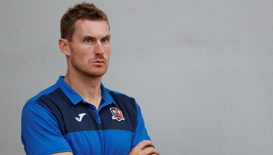 Exeter City manager Matt Taylor