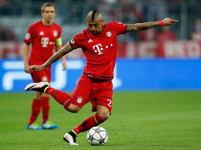 Arturo Vidal is one of many Bayern players seething after Tuesday's defeat to Real Madrid
