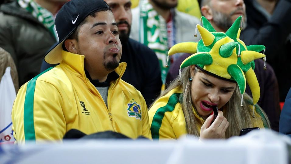 Fans of Brazilian football