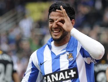 Carlos Vela sees goals on the horizon for Real Sociedad