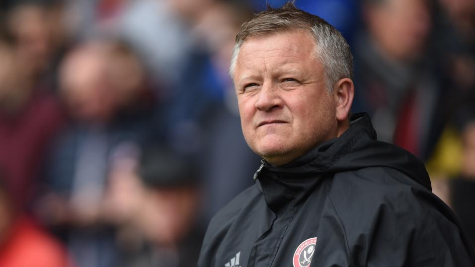 Chris Wilder can celebrate an overdue first win of the season