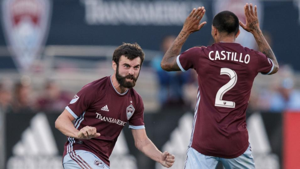 Colorado Rapids Jack Price Edgar Castillo