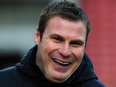 David Flitcroft should be celebrating a victory on Saturday with Bury