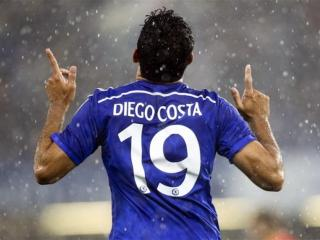 19... Diego Costa shows us how many league goals he has