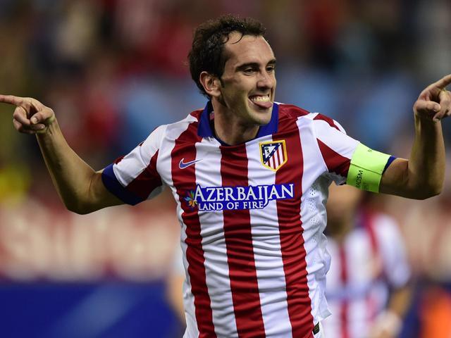 Diego Godin has scored 10 times in 79 Liga and Champions League appearances for Atletico Madrid