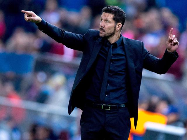 Diego Simeone is targeting a third successive Champions League quarter-final with Atletico Madrid