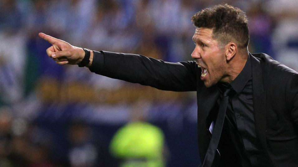 Diego Simeone of Atlético Madrid