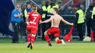 Dijon players celebrate