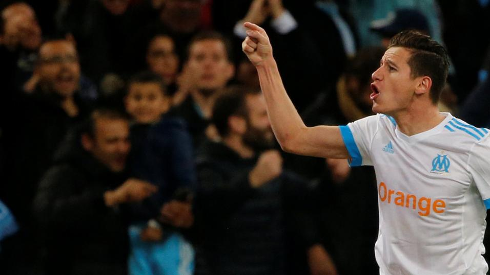 Marseille forward Florian Thauvin