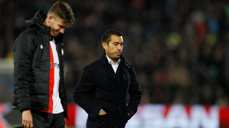 Giovanni van Bronckhorst's Feyenoord look set fair for failure again tonight