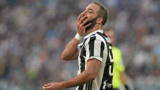 Juventus' Gonzolo Hugain has notched 13 goals in 22 games