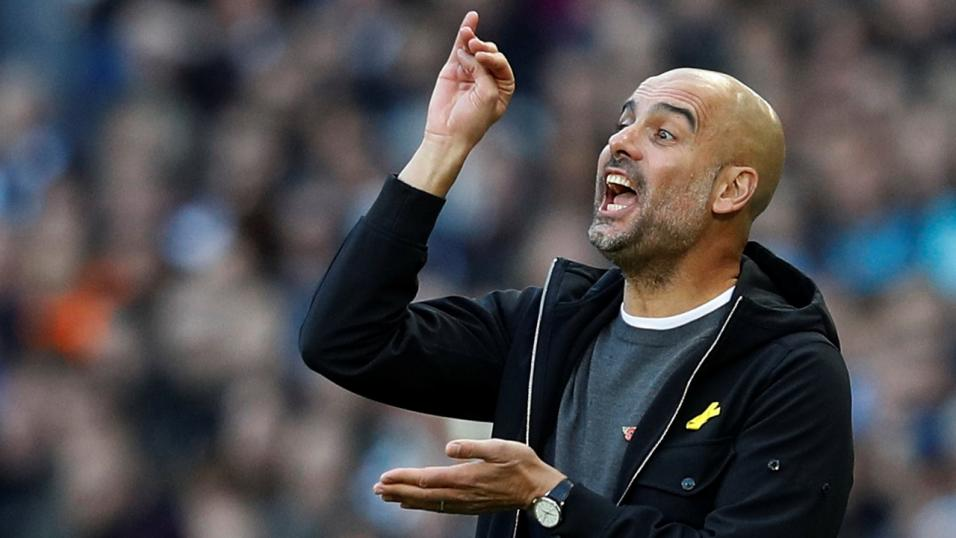 Pep Guardiola says sorry over late penalty miss