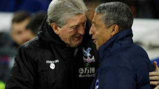 Roy Hodgson and Chris Hughton will go head-to-head in Monday's M23 derby