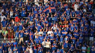 Iceland football fans