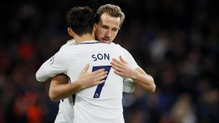 Tottenham footballers - Son Heung-min and Harry Kane