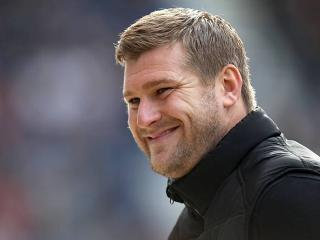 MK Dons boss Karl Robinson should be smiling on Sunday... for 45 minutes at least