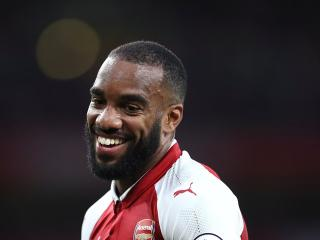 Alexandre Lacazette scored within just 94 seconds of his Premier League debut