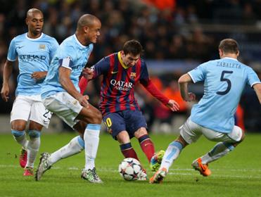 Close Encounter: Man City must not give Lionel Messi any space