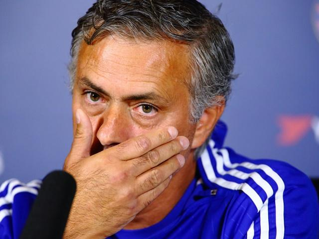 Will Jose Mourinho look less worried after Chelsea's trip to Everton?