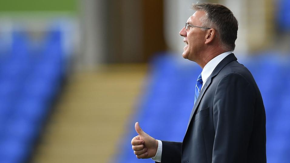Hull manager Nigel Adkins