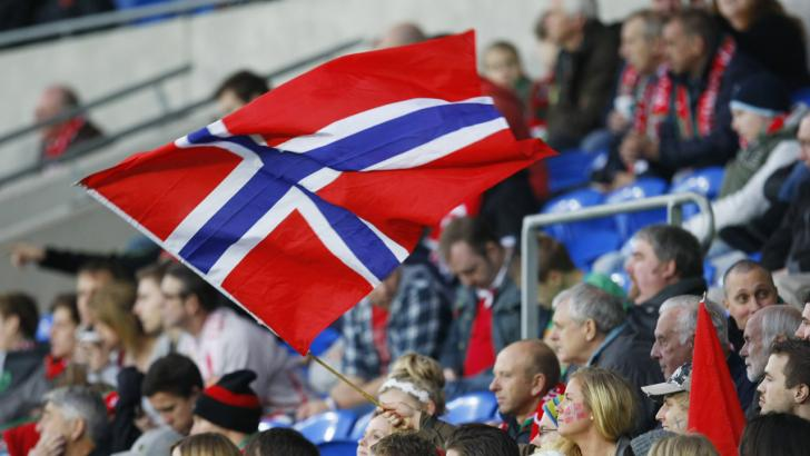 Norway football fans