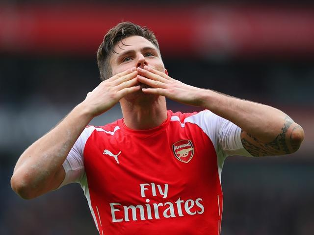 Can Olivier Giroud continue his good run of form?