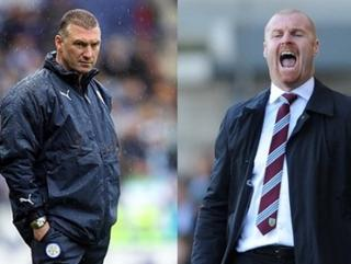Will Leicester manager Nigel Pearson or Burnley boss Sean Dyche have the last laugh when the two go head-to-head?