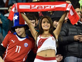 It's out of character, but Peru's national team have recently been doing their country proud