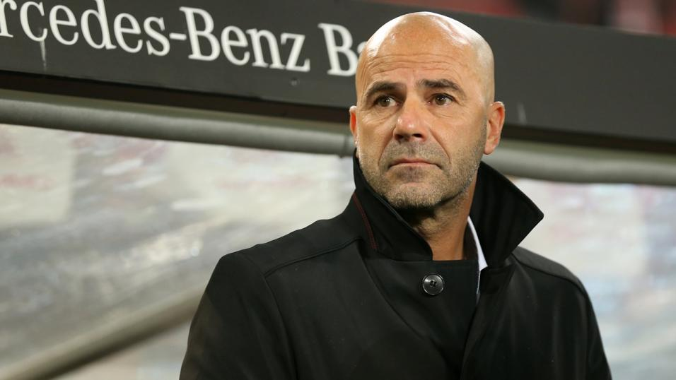 Bayer Leverkusen boss Peter Bosz
