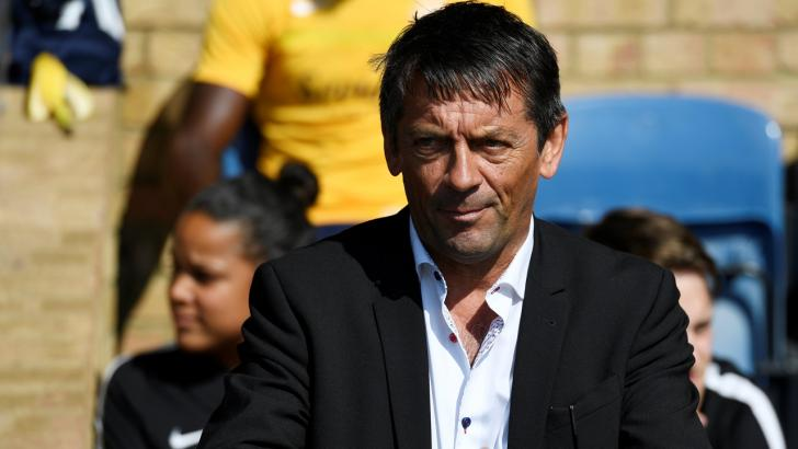 Swindon Town manager Phil Brown
