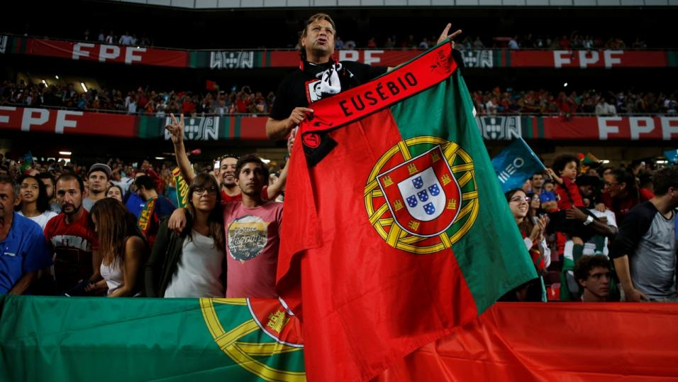 Portugal football fans