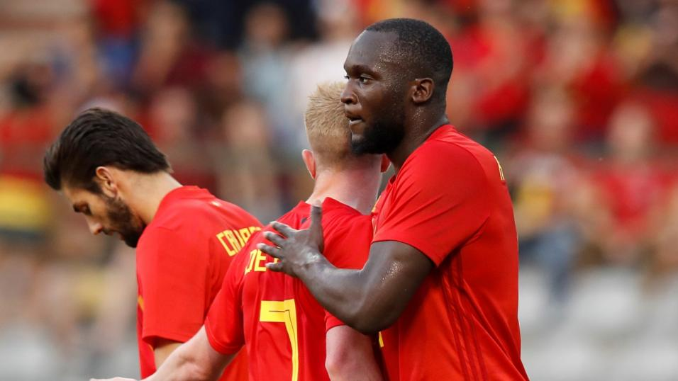 Roberto Martinez praises his team's commitment as Belgium win first game