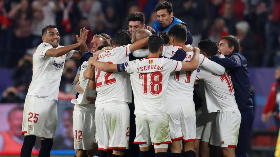 Will Sevilla be celebrating after their match with Maribor?