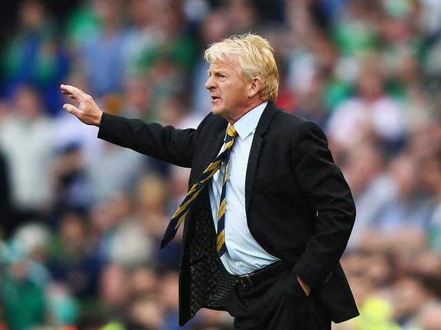 Gordon Strachan's Scotland were just seconds away from a famous victory over England
